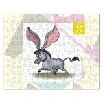 Big ears Jigsaw Puzzle (Rectangular)