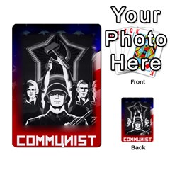 Red Scare By Peyton   Multi Purpose Cards (rectangle)   7jbh92pxnxru   Www Artscow Com Front 11