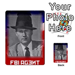 Red Scare By Peyton   Multi Purpose Cards (rectangle)   7jbh92pxnxru   Www Artscow Com Front 21
