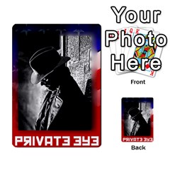 Red Scare By Peyton   Multi Purpose Cards (rectangle)   7jbh92pxnxru   Www Artscow Com Front 30