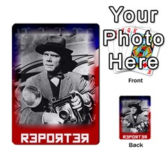 Red Scare By Peyton   Multi Purpose Cards (rectangle)   7jbh92pxnxru   Www Artscow Com Front 31