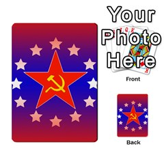 Red Scare By Peyton   Multi Purpose Cards (rectangle)   7jbh92pxnxru   Www Artscow Com Back 50