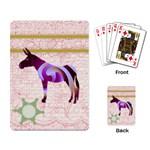 Swirl donk Playing Cards Single Design