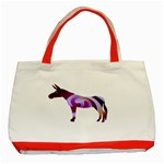 Swirl donk Classic Tote Bag (Red)