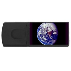 earth_from_space USB Flash Drive Rectangular (4 GB) by bluestaroceans