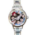 Round Italian Charm Watch