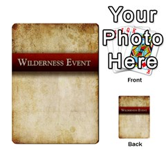 Prophecy Wilderness Events Deck By Midaga   Playing Cards 54 Designs   Ctb5yiv6act3   Www Artscow Com Back