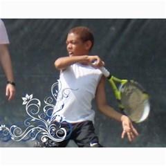 Nat Tennis Center Calendar By Cyril Gittens   Wall Calendar 11  X 8 5  (12 Months)   Xpx3nh6sn6rw   Www Artscow Com Month