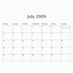 Nat Tennis Center Calendar By Cyril Gittens   Wall Calendar 11  X 8 5  (12 Months)   Xpx3nh6sn6rw   Www Artscow Com Jul 2009