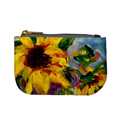 Single Sunflower By Alana   Mini Coin Purse   Ufgnpgnt6hxn   Www Artscow Com Front
