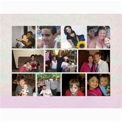 Family Calendar By Terry Frederick   Wall Calendar 11  X 8 5  (12 Months)   4vqph9e3ymeu   Www Artscow Com Month