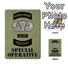 Airborne Deck Layout By James Hebert   Multi Purpose Cards (rectangle)   Zojdh1lc2y9c   Www Artscow Com Back 12
