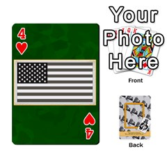 Support Our Troops By Brookieadkins Yahoo Com   Playing Cards 54 Designs   Io42ffm4jan4   Www Artscow Com Front - Heart4