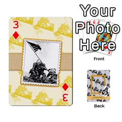 Support Our Troops By Brookieadkins Yahoo Com   Playing Cards 54 Designs   Io42ffm4jan4   Www Artscow Com Front - Diamond3