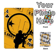 Support Our Troops By Brookieadkins Yahoo Com   Playing Cards 54 Designs   Io42ffm4jan4   Www Artscow Com Front - Club4