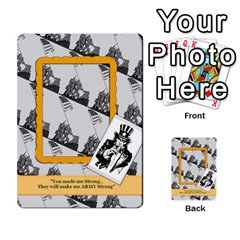 Support Our Troops By Brookieadkins Yahoo Com   Playing Cards 54 Designs   Io42ffm4jan4   Www Artscow Com Back