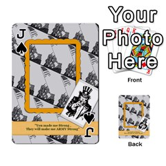 Jack Support Our Troops By Brookieadkins Yahoo Com   Playing Cards 54 Designs   Io42ffm4jan4   Www Artscow Com Front - SpadeJ