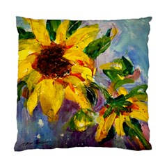 Single Sunflower By Alana   Standard Cushion Case (two Sides)   Y52ddpue0jt8   Www Artscow Com Front