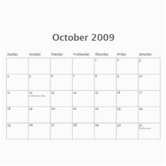 Chris & Steve Senior Pics Calendar By Amyjo   Wall Calendar 11  X 8 5  (12 Months)   Jkcvvcdmiwqj   Www Artscow Com Oct 2009