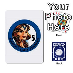 Dunespiceandheros1to33 By Frank Molina   Playing Cards 54 Designs   Kh6ha9beq0si   Www Artscow Com Front - Diamond3