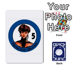 Dunespiceandheros1to33 By Frank Molina   Playing Cards 54 Designs   Kh6ha9beq0si   Www Artscow Com Front - Diamond5