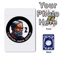 Dunespiceandheros1to33 By Frank Molina   Playing Cards 54 Designs   Kh6ha9beq0si   Www Artscow Com Front - Joker1