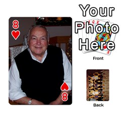 Deck #1 By Ron Sergenian   Playing Cards 54 Designs   Wrlsru7ju7nq   Www Artscow Com Front - Heart8