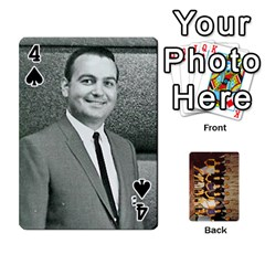 Deck #1 By Ron Sergenian   Playing Cards 54 Designs   Wrlsru7ju7nq   Www Artscow Com Front - Spade4