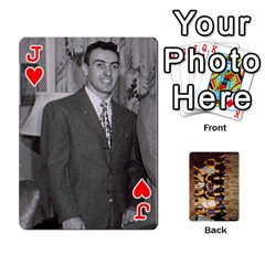 Jack Deck #1 By Ron Sergenian   Playing Cards 54 Designs   Wrlsru7ju7nq   Www Artscow Com Front - HeartJ