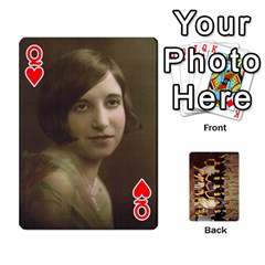 Queen Deck #1 By Ron Sergenian   Playing Cards 54 Designs   Wrlsru7ju7nq   Www Artscow Com Front - HeartQ