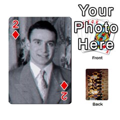 Deck #1 By Ron Sergenian   Playing Cards 54 Designs   Wrlsru7ju7nq   Www Artscow Com Front - Diamond2