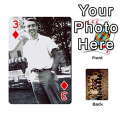 Deck #1 By Ron Sergenian   Playing Cards 54 Designs   Wrlsru7ju7nq   Www Artscow Com Front - Diamond3