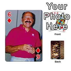 Deck #1 By Ron Sergenian   Playing Cards 54 Designs   Wrlsru7ju7nq   Www Artscow Com Front - Diamond6