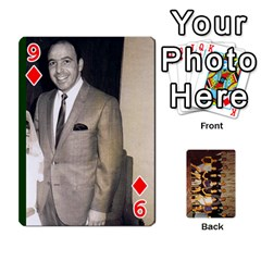 Deck #1 By Ron Sergenian   Playing Cards 54 Designs   Wrlsru7ju7nq   Www Artscow Com Front - Diamond9