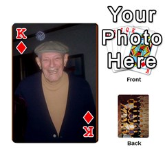 King Deck #1 By Ron Sergenian   Playing Cards 54 Designs   Wrlsru7ju7nq   Www Artscow Com Front - DiamondK