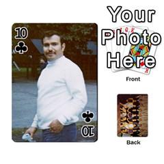 Deck #1 By Ron Sergenian   Playing Cards 54 Designs   Wrlsru7ju7nq   Www Artscow Com Front - Club10