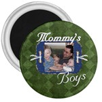 mommy;s boys - 3  Magnet