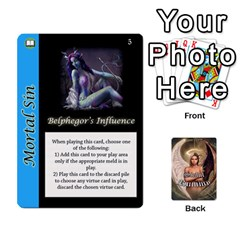 Queen Sinful Rummy   Special Cards By Daisy   Playing Cards 54 Designs   Mc45uxjyl2jl   Www Artscow Com Front - SpadeQ
