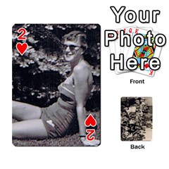 Deck #2 By Ron Sergenian   Playing Cards 54 Designs   Nmjqzuq4aykl   Www Artscow Com Front - Heart2