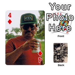Deck #2 By Ron Sergenian   Playing Cards 54 Designs   Nmjqzuq4aykl   Www Artscow Com Front - Diamond4