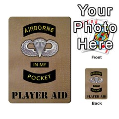 Geronimo! Airborne Expansion By James Hebert   Multi Purpose Cards (rectangle)   Iwu2mfw1tzgd   Www Artscow Com Back 44