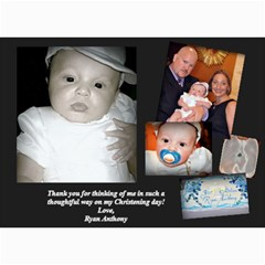 Ryan 1 By Jessica   5  X 7  Photo Cards   F0vk3pas95of   Www Artscow Com 7 x5 Photo Card - 12