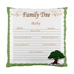 baby s family tree - Standard Cushion Case (One Side)