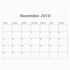 2010 Calender By Maggie Li   Wall Calendar 11  X 8 5  (12 Months)   Jr0fe7mepss8   Www Artscow Com Nov 2010