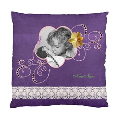 Nan Nan s Purple Cusion By Sarah   Standard Cushion Case (two Sides)   7cxvng0yqkpv   Www Artscow Com Front