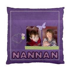 Nan Nan s Purple Cusion By Sarah   Standard Cushion Case (two Sides)   7cxvng0yqkpv   Www Artscow Com Back