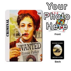 Cates Bonnie Clyde Part 1 By Daisy   Playing Cards 54 Designs   Itgcvxaupb4m   Www Artscow Com Front - Joker1