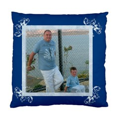 Litle Boy Blue Cushion Cover By Catvinnat   Standard Cushion Case (two Sides)   0b4qnnmtu069   Www Artscow Com Front