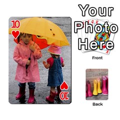 Rainyday Playing Cards By Lily Hamilton   Playing Cards 54 Designs   Taukd9lu3oq5   Www Artscow Com Front - Heart10