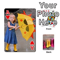 Ace Rainyday Playing Cards By Lily Hamilton   Playing Cards 54 Designs   Taukd9lu3oq5   Www Artscow Com Front - HeartA